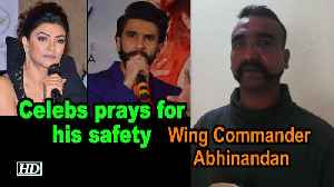 Celebs pray for Wing Commander Abhinandan's safety [Video]