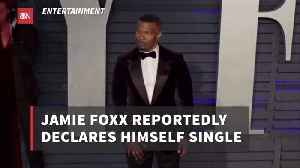 Looks Like Jamie Foxx And Katie Holmes Are Over [Video]