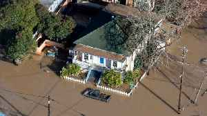 Waters Recede, But Northern California Towns Still Cut Off By Flooding [Video]