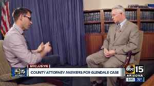 County attorney Bill Montgomery answers questions about Glendale tasing case [Video]