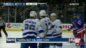 Tampa Bay Lightning win 10th straight game, top New York Rangers 4-3 in overtime [Video]
