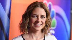 Jenna Fischer Gets Surprise From Office Co-Star For Her Birthday [Video]