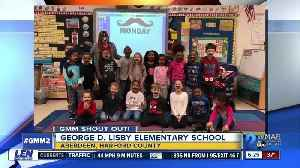 Good morning from George D. Lisby Elementary School! [Video]