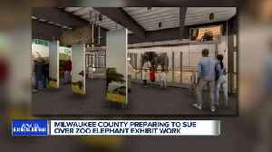 Milwaukee County Zoo prepares to sue contractors over elephant exhibit work [Video]