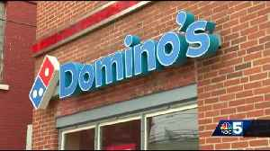 Domino's gives city $5,000 grant to help fix potholes [Video]