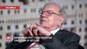 Old School Warren Buffett Makes Stunning Claim About Bitcoin [Video]
