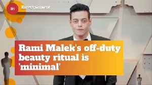 What Is Rami Malek's Skin Care Secrets [Video]