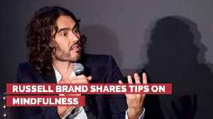 Russell Brand Gives Life Advice To Twitter Followers [Video]