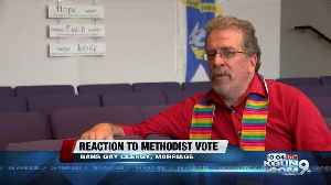 Local Methodist pastor reacts to vote banning same-sex marriage, gay clergy [Video]