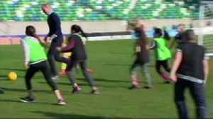 Will and Kate's Windsor Park kickabout [Video]