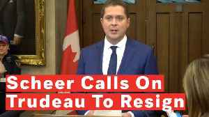 Canadian Opposition Leader Calls On Justin Trudeau To Resign As Prime Minister [Video]