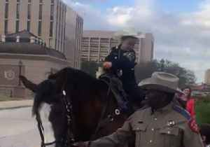 Girl With Cancer, Now Honorary Texas Ranger, Rides Horse at State Capitol [Video]
