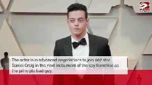 Rami Malek in final talks to play Bond 25 villain [Video]