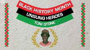 Unsung Heroes: Toni Stone Made Baseball History as the Sport's First Professional Female Player [Video]