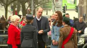 Prince William and Kate visit Northern Irish arts center [Video]