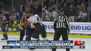 Condors looking to extend winning streak [Video]
