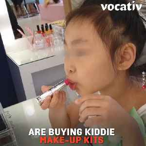 South Korean Cosmetics Industry Is Targeting Kids Amid Criticism of Unachievable Beauty Standards [Video]