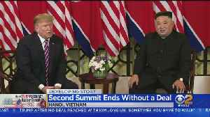 Second Trump-Kim Summit Ends Abruptly With No Deal [Video]