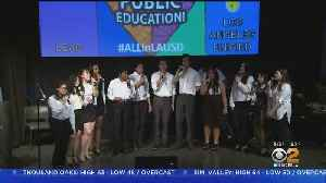 CBS2's Pat Harvey Hosts First LAUSD 'All In For Public Education' Event [Video]
