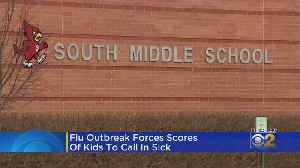 Nearly 200 Kids Call In Sick At Arlington Heights Middle School [Video]