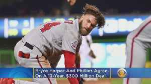 Bryce Harper Agrees To 13 Year Contract With Phillies [Video]