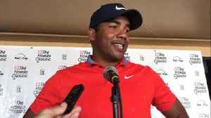Jhonattan Vegas after his 6-under first round at Honda Classic [Video]