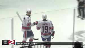 Comets fall to Rochester Americans [Video]