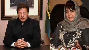 Imran Khan has acted like statesman says Mehbooba Mufti | OneIndia News [Video]