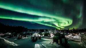 Aurora borealis illuminates Lapland sky [Video]