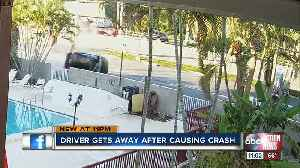 WATCH: Dramatic rollover hit-and-run crash caught on camera in Manatee County [Video]