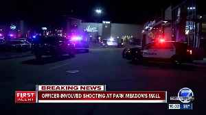 Officer-involved shooting investigation underway at Park Meadows mall; no officers injured [Video]