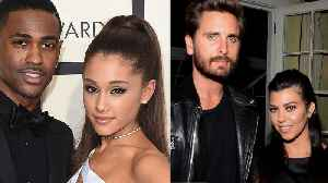 Ariana Grande REUNITES With Ex Big Sean As Kourtney Kardashian Is Spotted Out With Scott Disick! [Video]