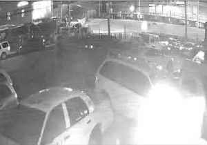 Security Camera Captures Moment Train Hits SUV and Derails in Westbury [Video]