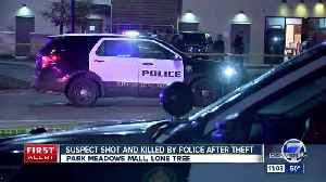 Suspect who died in officer-involved shooting at Park Meadows mall identified by coroner's office [Video]