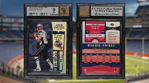 Tom Brady Rookie Card Fetches $400,100 in eBay Auction [Video]