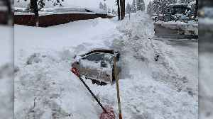 Woman Found Alive in Snow-Buried Car in South Lake Tahoe [Video]