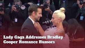Lady Gaga Talks To Kimmel About Bradley Cooper Love Rumors [Video]