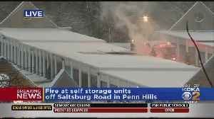 Crews Battle Fire At Penn Hills Self-Storage Facility [Video]