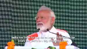 India no longer helpless in wake of terror, says PM Modi [Video]
