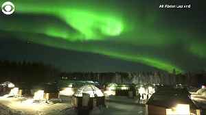 WEB EXTRA Northern Lights in Finland [Video]