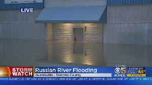 Russian River Flood Waters Dropping; Evacuations Expected To Be Lifted [Video]