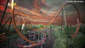 New Roller Coaster Will Be Tallest, Fastest & Longest Dive Coaster in the World [Video]