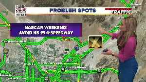 Heavy traffic expected this NASCAR weekend. How to get around it [Video]