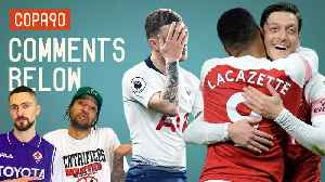 Can Arsenal Win North London Derby To Drag Spurs Into Top 4 Race? | Comments Below [Video]
