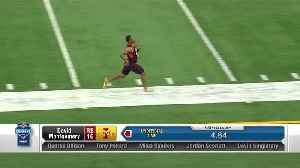David Montgomery runs official 4.63 40-yard dash [Video]