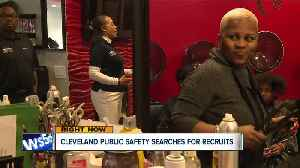 Cleveland public safety holds recruiting event at beauty salon [Video]