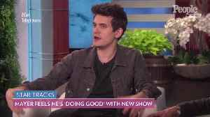 John Mayer Says His 'Current Mood' Series Is Like 'Mr. Rogers for Hungover Adults' [Video]