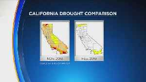 Relentless Winter Storms All But Eliminate Drought Conditions In California [Video]