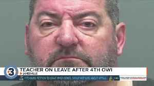 Teacher arrested on suspicion of 4th OWI was student favorite; parents say 'enough is enough' [Video]