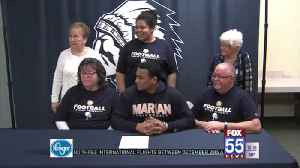 Woodlan's Meyer Signs With Marian [Video]